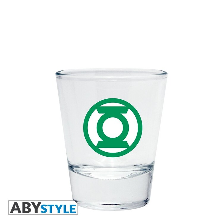 Glass DC Comics - Emblem