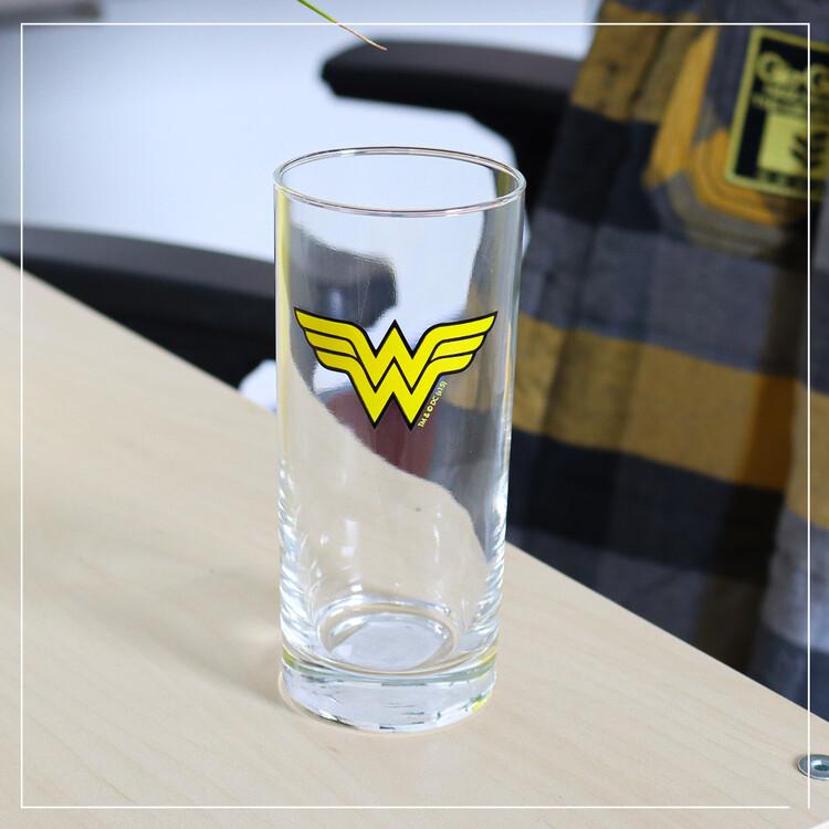Glass DC Comics - Wonder Woman