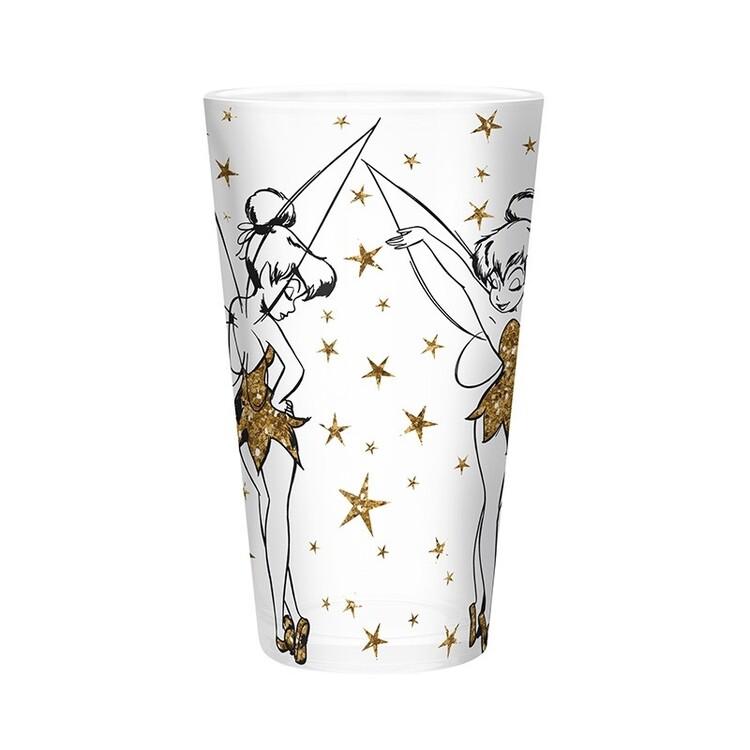 Glass Disney - Tinkerbell Gold