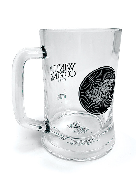 Game of Thrones - House Stark Glass