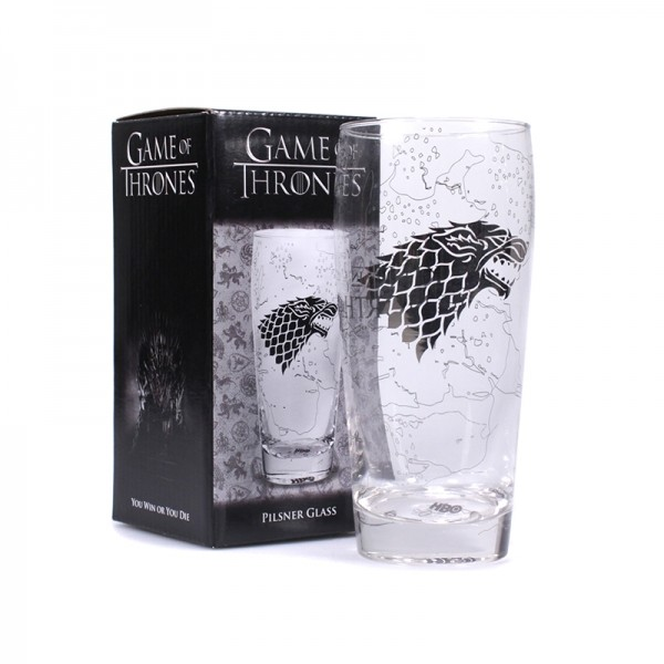 Glass Game Of Thrones - King In The North