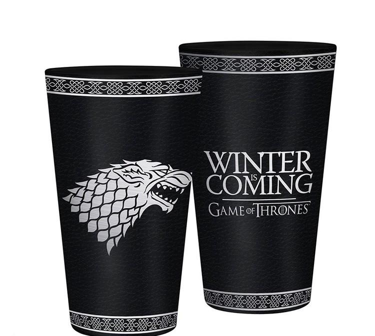 Glass Game Of Thrones - Stark