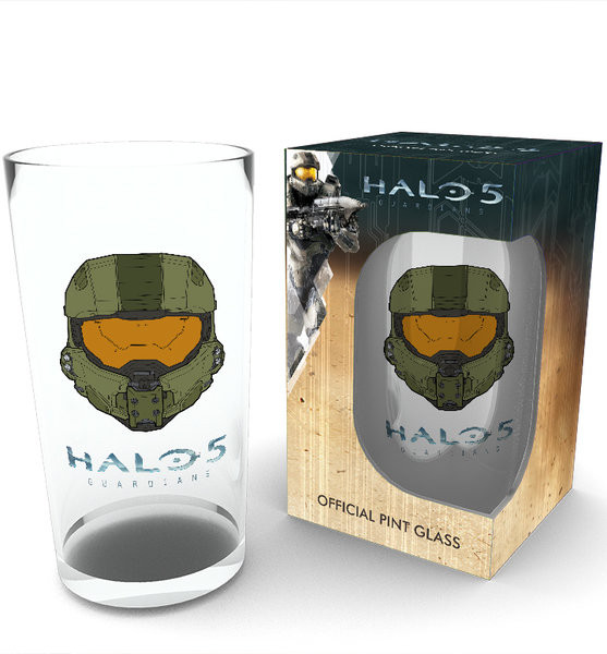 Halo 5 - Mask Glass