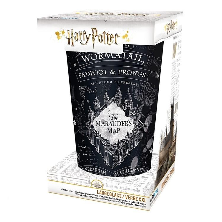 Glass Harry Potter - Marauder's map