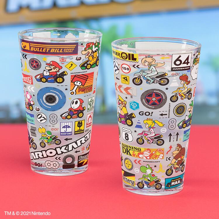 Glass Mario Kart