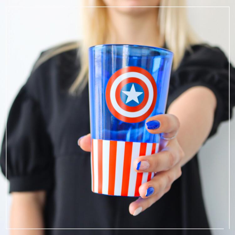 Glass Marvel - Captain America