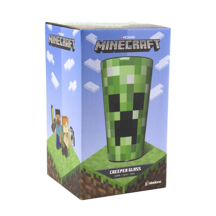 Glass Minecraft - Creeper