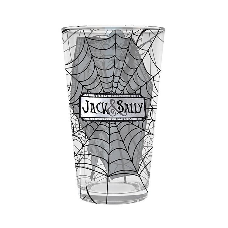 Glass Nightmare Before Christmas - Jack & Sally