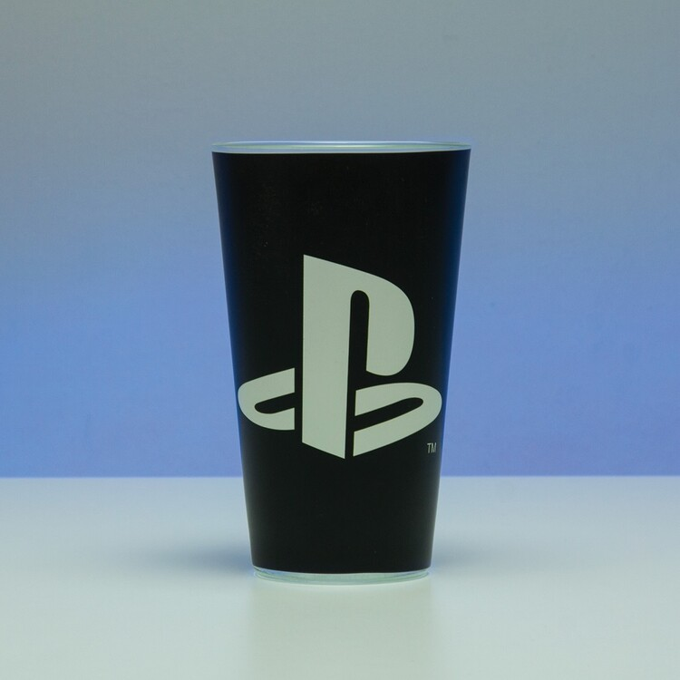 Glass Playstation - Logo