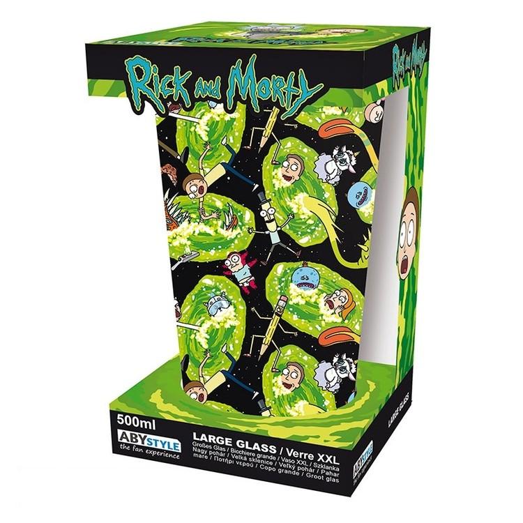 Glass Rick & Morty - Portals