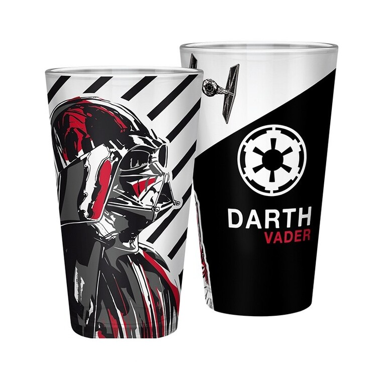 Glass Star Wars - Darth Vader