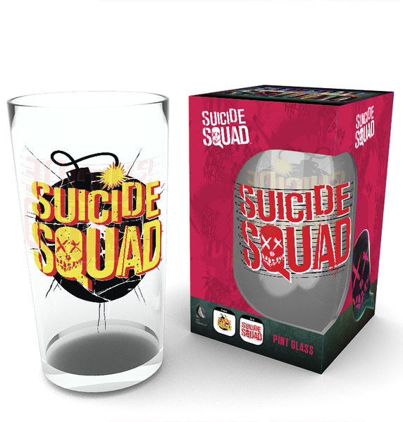Suicide Squad - Bomb Glass