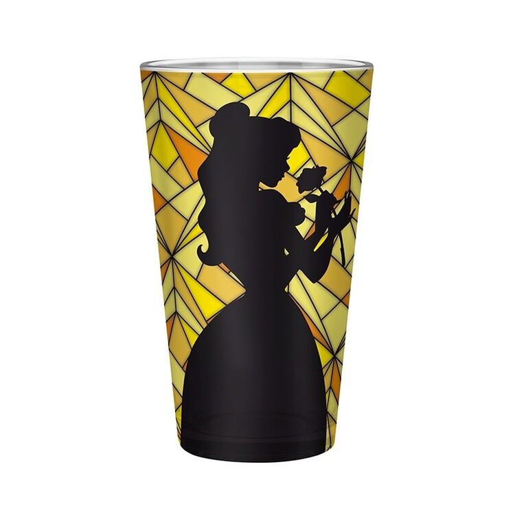 Glass The Beaty & Beast - Belle