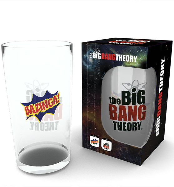 The Big Bang Theory - Bazinga Glass