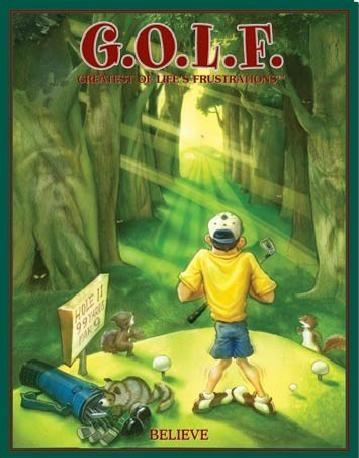 GOLF - believe Panneau Mural