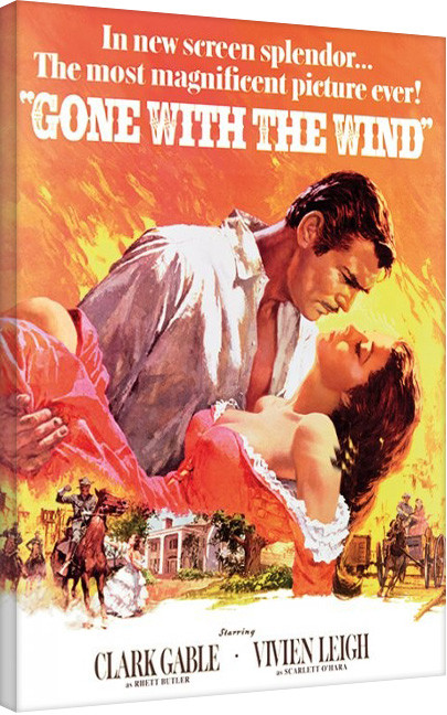 Gone With The Wind Canvas Print