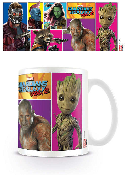 Cup Guardians Of The Galaxy Vol. 2 - Comic Panels