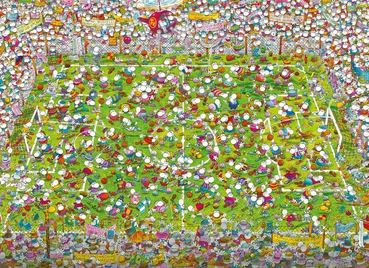 Puzzle Guillermo Mordillo