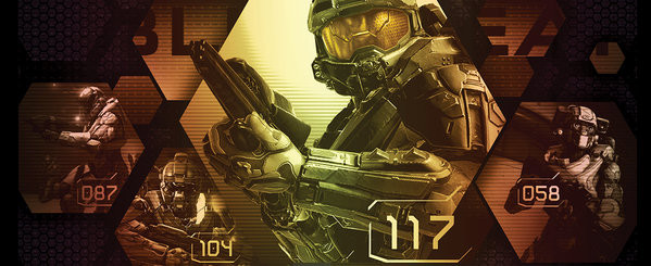 Cup Halo 5 - Blue Team