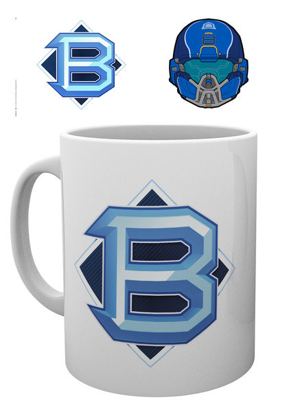 Cup Halo 5 - PVP Blue