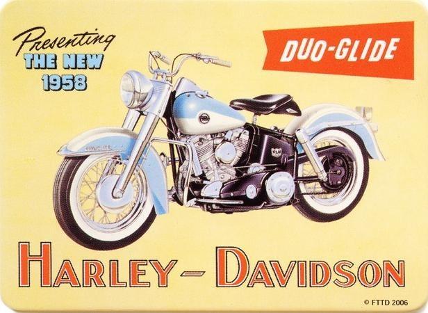 HARLEY DAVIDSON - duo Magnet