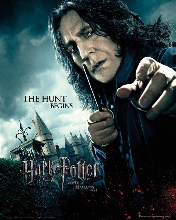 Harry Potter et les reliques de la mort: 1ère partie - Severus Rogue Reproduction d'art