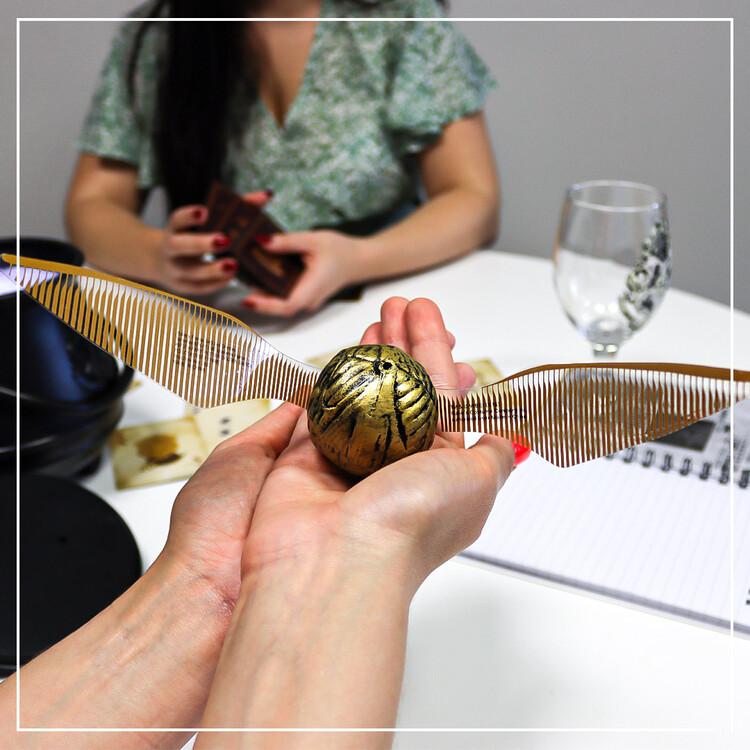 Figurine Harry Potter - Golden Snitch (Plastic Replica)