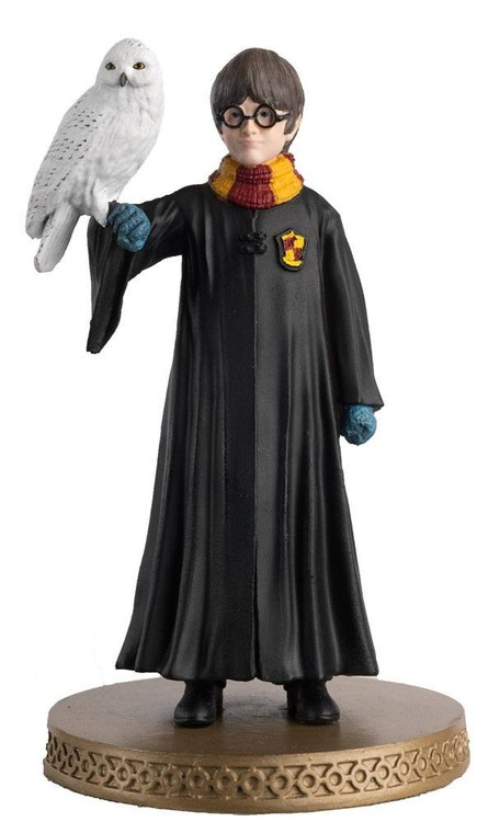 Figurine Harry Potter - Harry Potter and Hedwig