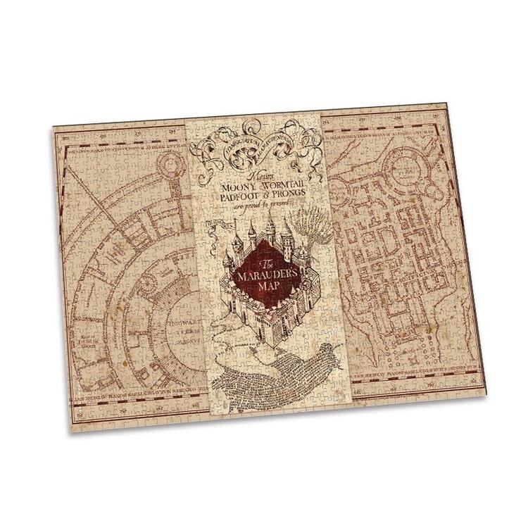 Puzzle Harry Potter - Marauder's Map