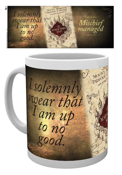 Mug Harry Potter - Marauder's map