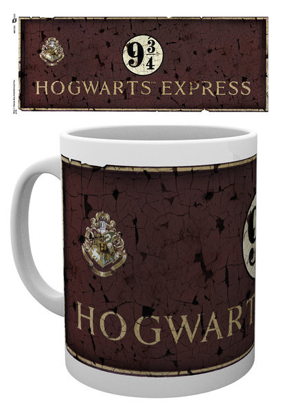 Cup Harry Potter - Platform 9 3/4