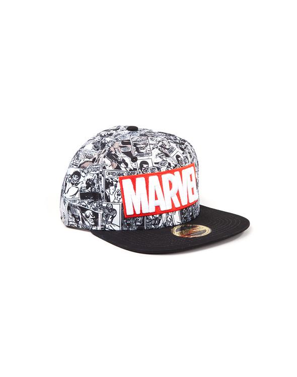 Hattu Marvel - Red and White Logo