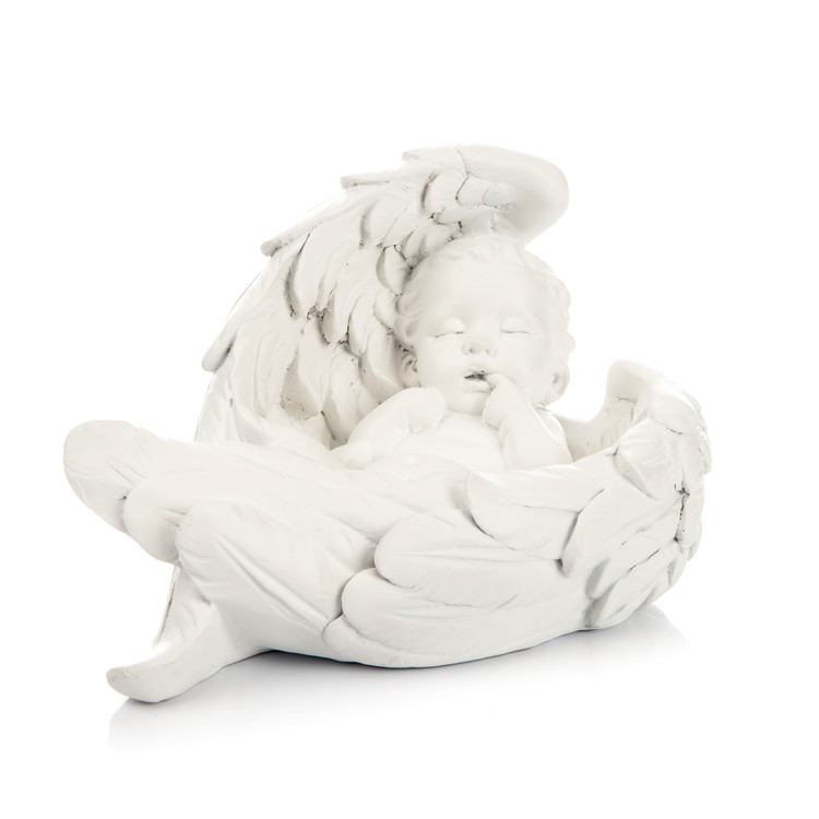 Angel Baby with Wings, 14 cm Home Decor