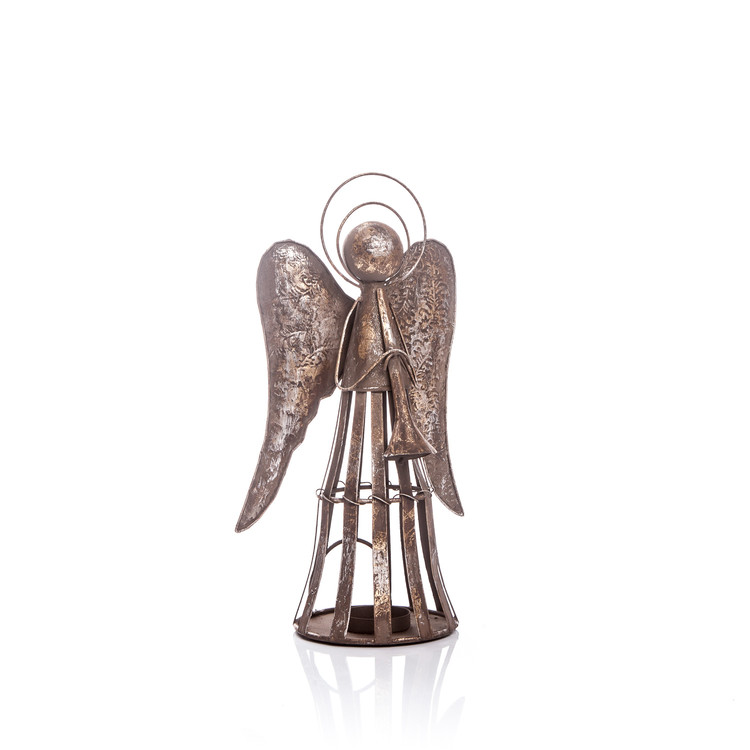 Angel Candle Holder 35 cm Home Decor