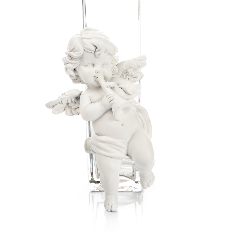 Angel with Trumpet, 12 cm Home Decor