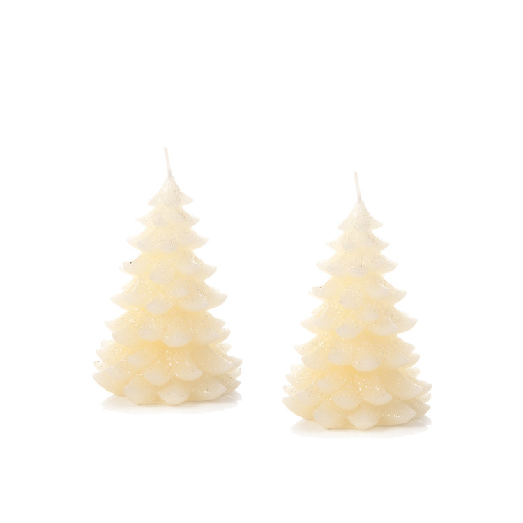 Candle Tree Huna, 11 cm, set of 2 pcs Home Decor