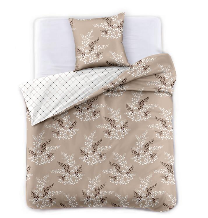 Bed sheets Hypnosis Brown