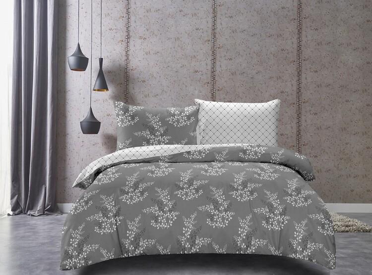 Bed sheets Hypnosis Grey