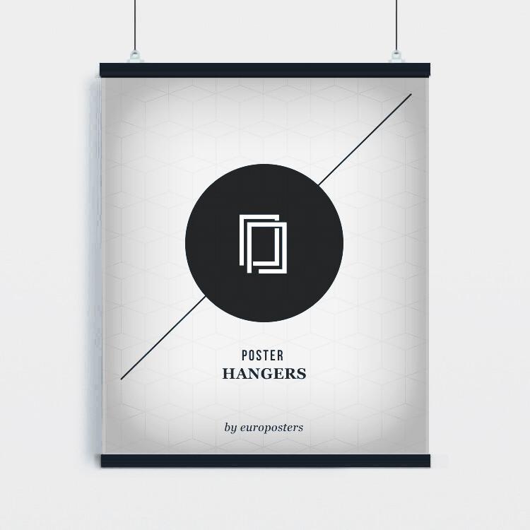 Poster hangers - 2 pcs