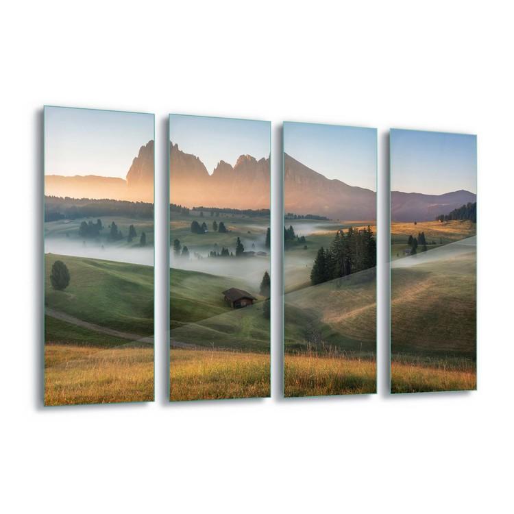 Glass Art  Alpine Mist