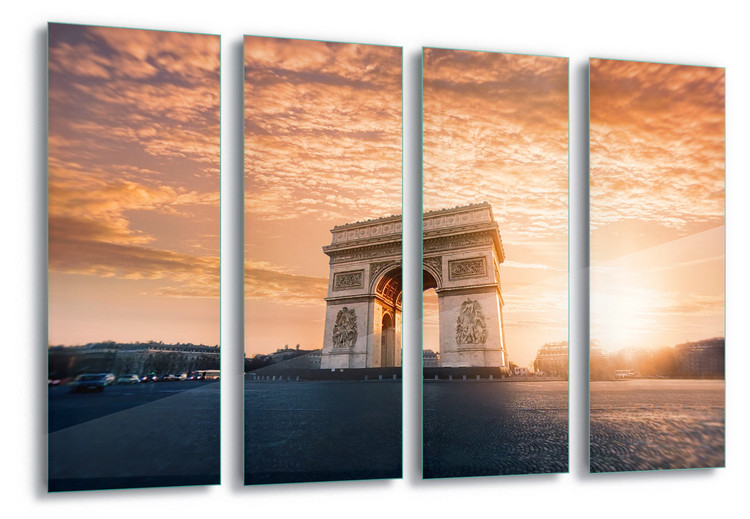 Glass Art  Arc De Triomphe