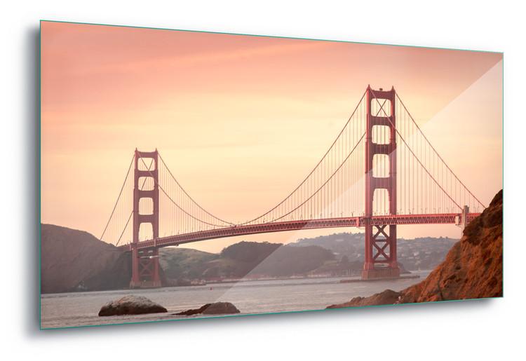 Glass Art Golden Gate