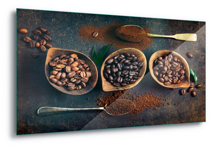 Glass Art Rich Coffee