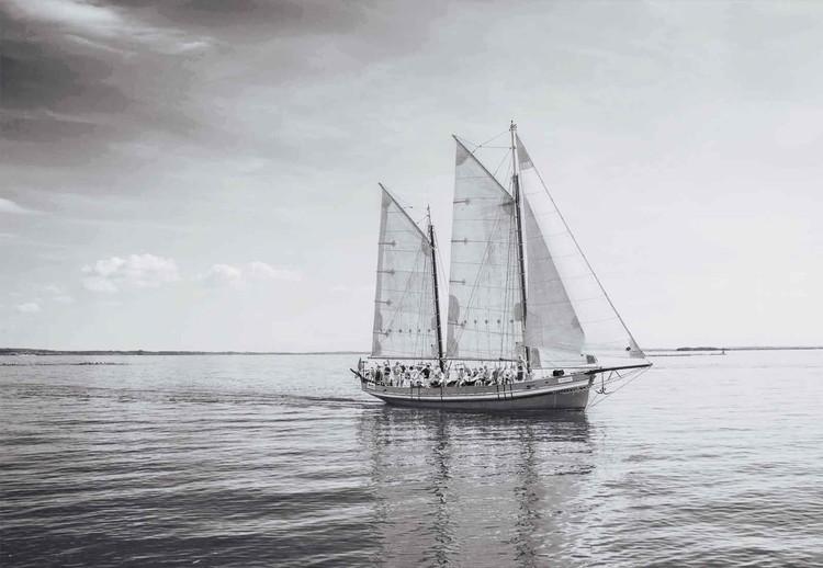 Glass Art  Sail Away
