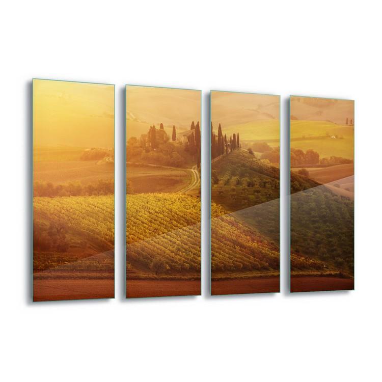 Glass Art Tuscan Dream
