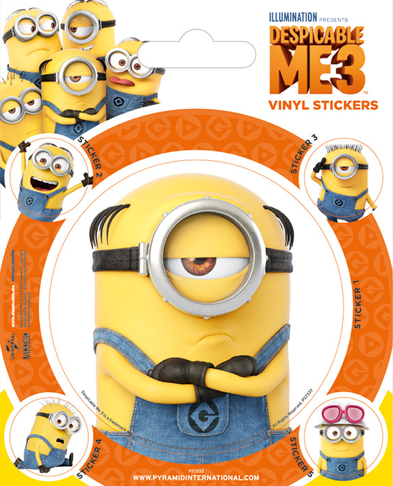 Sticker Despicable Me 3 - Minions