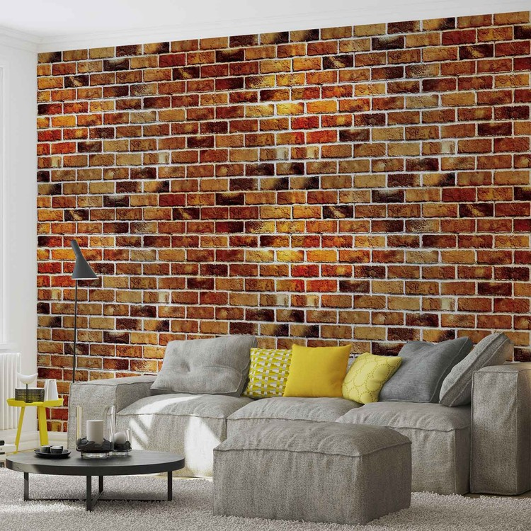 Wallpaper Mural Brick Wall
