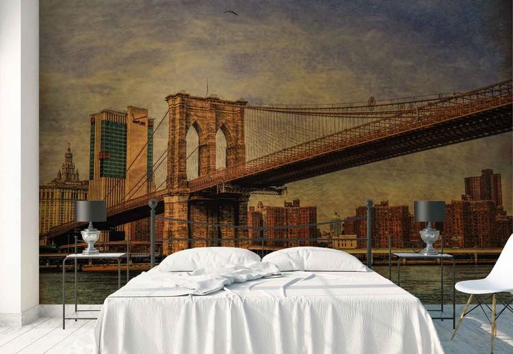 Wallpaper Mural Brooklyn Bridge