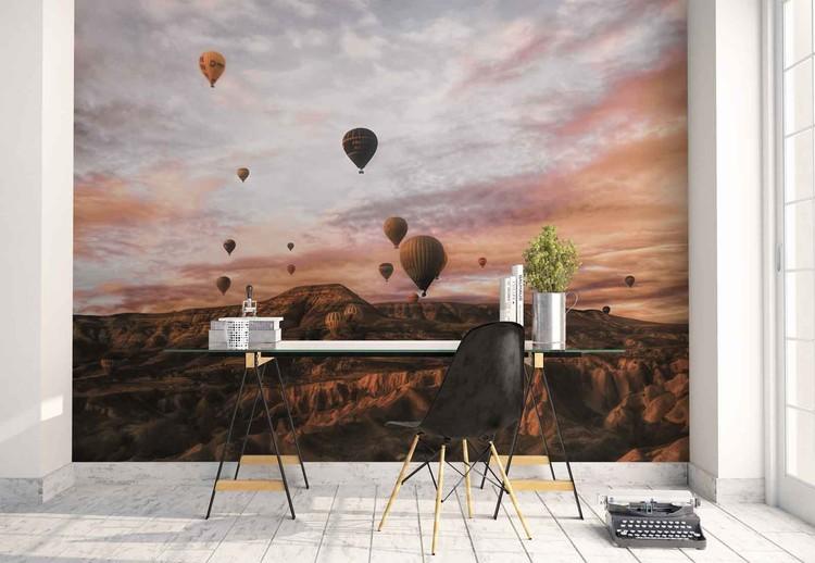 Wallpaper Mural Cappodocia Hot Air Balloon