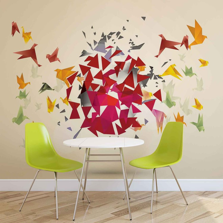 Wallpaper Mural Explosion Abstract